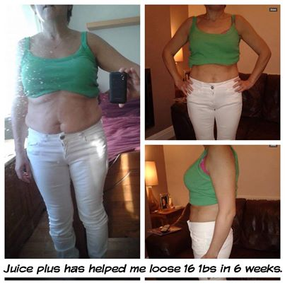 Juice Plus - before and after